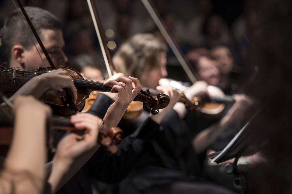 """Imagen Orquesta del conservatorio superior """"ÓSCAR ESPLÀ"""""""