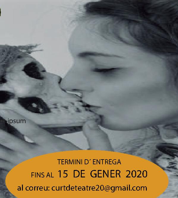 Imagen VI CONCURSO DE ESCRITURA DRAMÁTICA